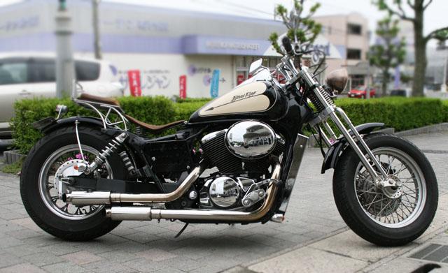 HONDA ホンダシャドウ400