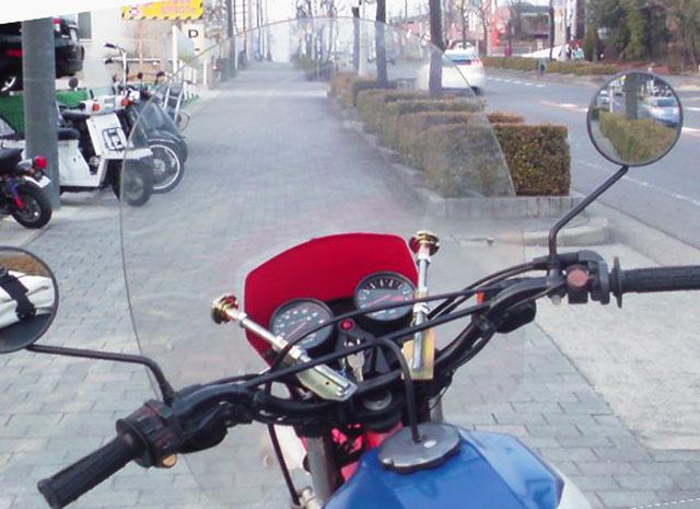 バイク特注風防