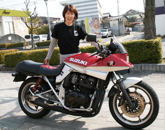 カタナ400Suzuki