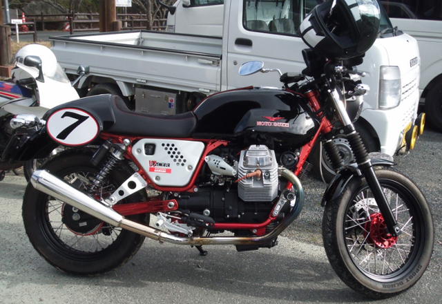 モトグッチV7レーサー750cc