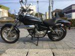 ▶特選中古車|ホンダ・マグナ黒50  ¥130,000