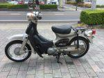 ▶特選中古車|ホンダ・リトルカブ銀  ¥68,000(税別)